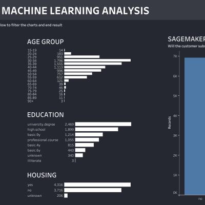thumbnail: SageMaker Customer ML Analysis